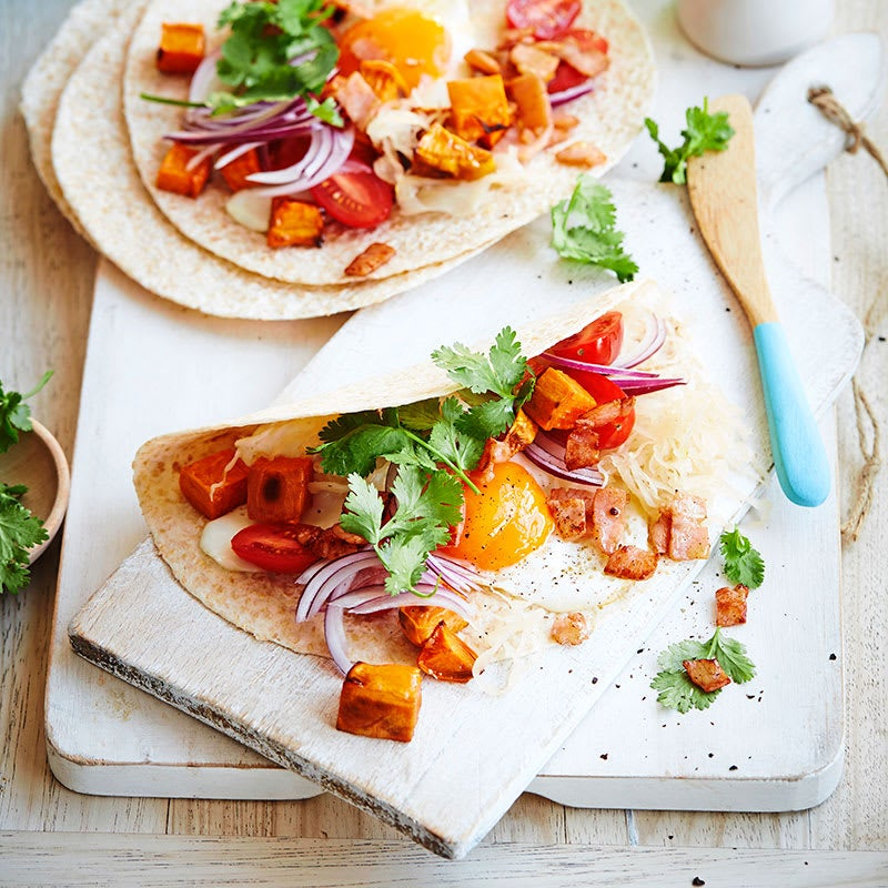 Photo of Bacon and egg soft taco by WW