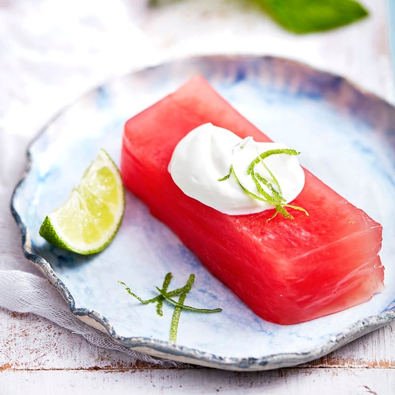 Photo of Watermelon and lime jelly by WW