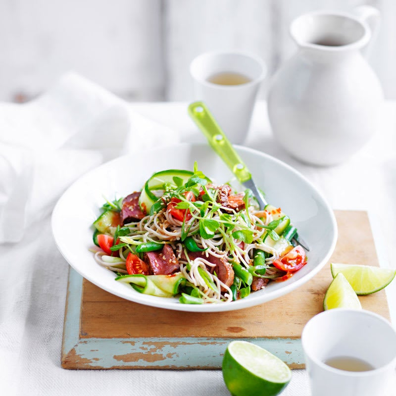 Photo of Sweet chilli lamb and noodle salad by WW