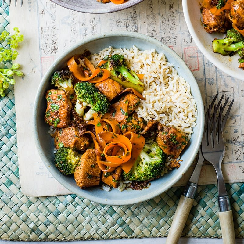 Photo of Honey and ginger chicken stir-fry by WW
