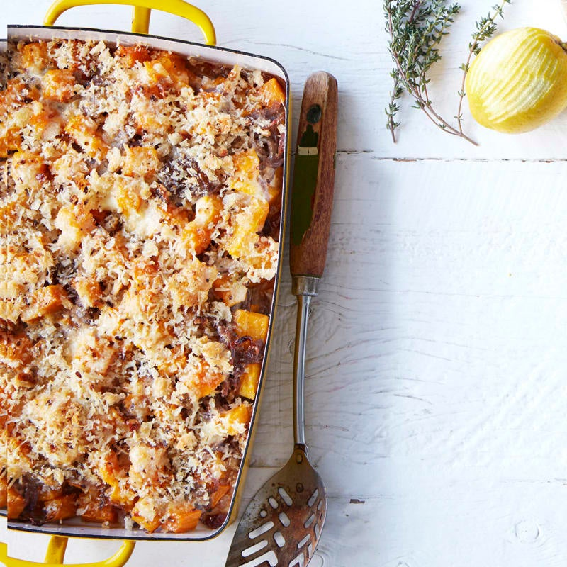 Photo of Pumpkin and caramelised onion gratin by WW