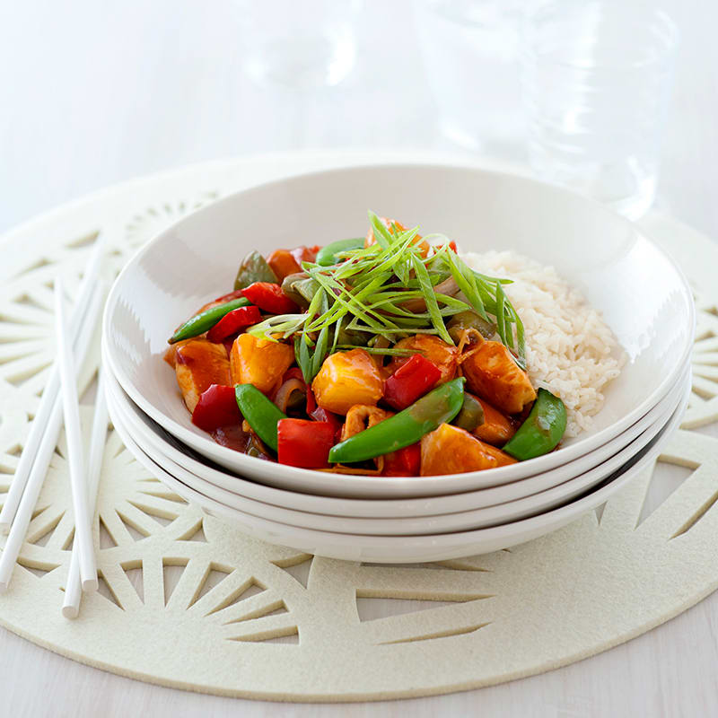 Photo of Simple sweet and sour chicken by WW