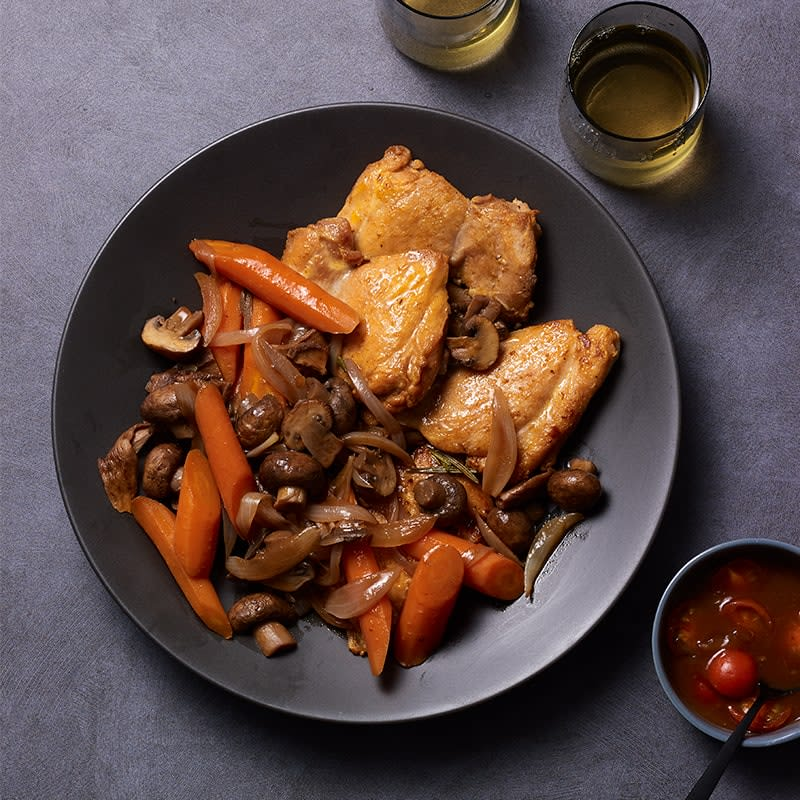 Photo of Herby chicken and mushrooms by WW