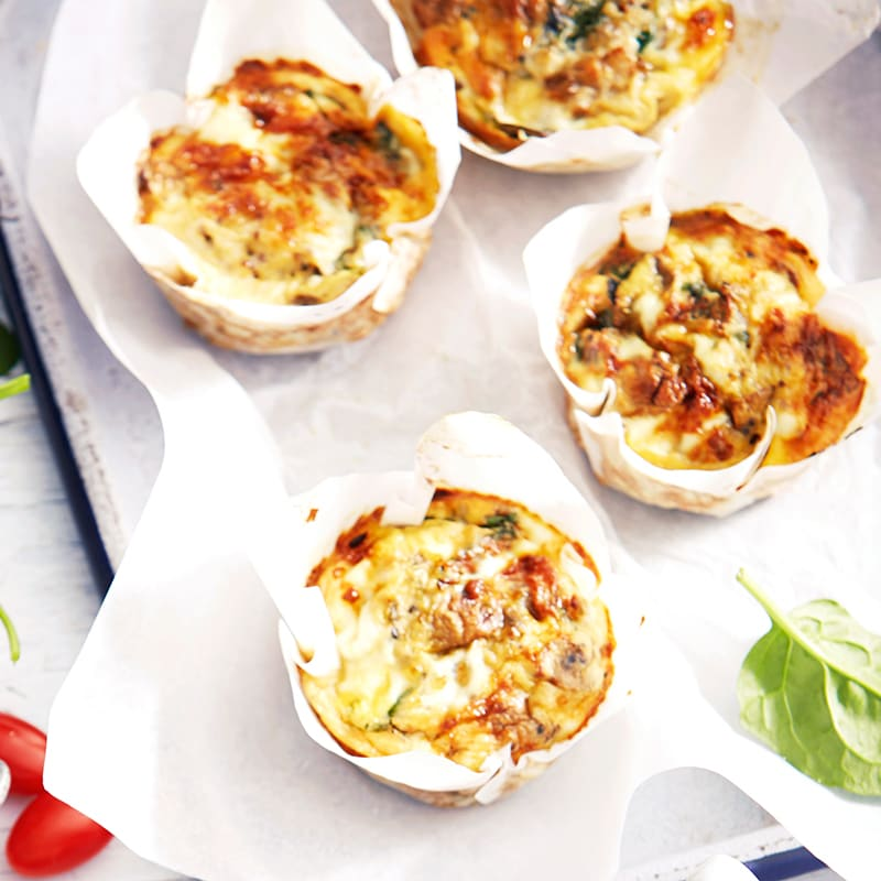 Photo of Quinoa, spinach and mushroom frittatas by WW