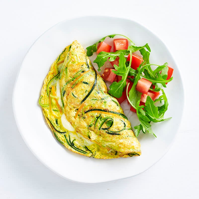 Photo of Oodles of zoodles omelette by WW