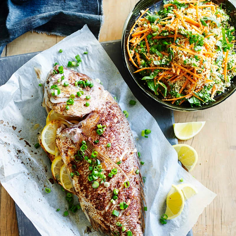 Photo of Moroccan-spiced fish with couscous by WW