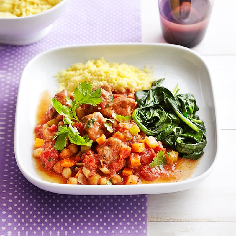 Photo of Lamb, harissa and chickpea stew by WW
