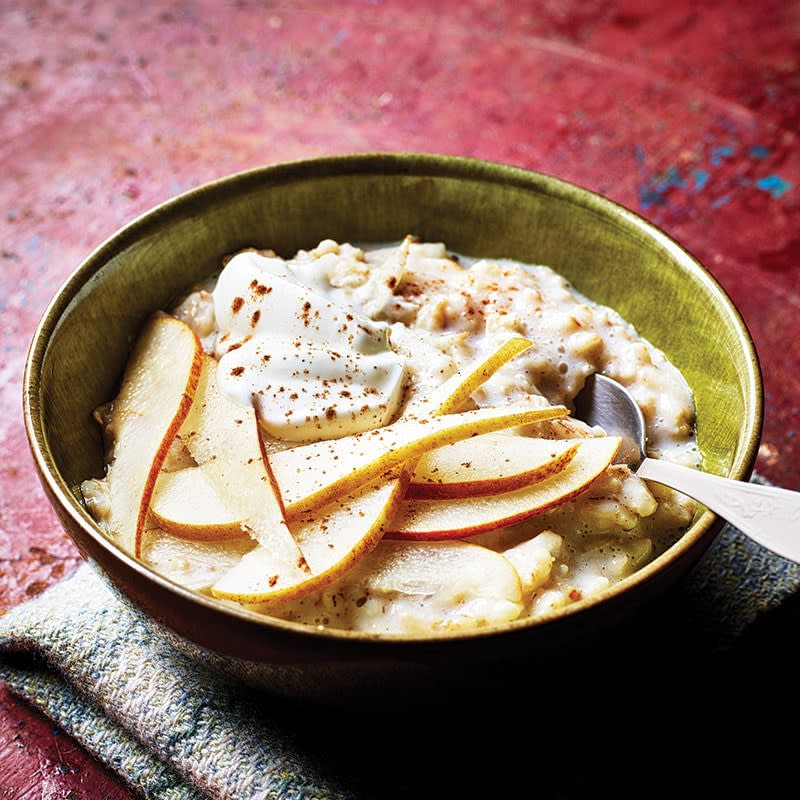Photo of Pear and cinnamon porridge by WW