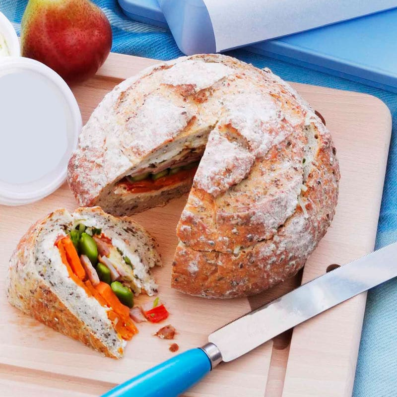 Photo of Cheese and bacon picnic loaf by WW