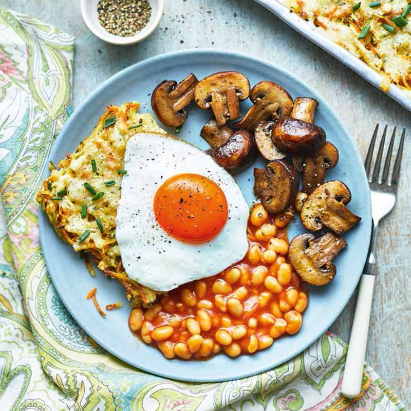 Photo of Vegetarian hash brown tray bake by WW