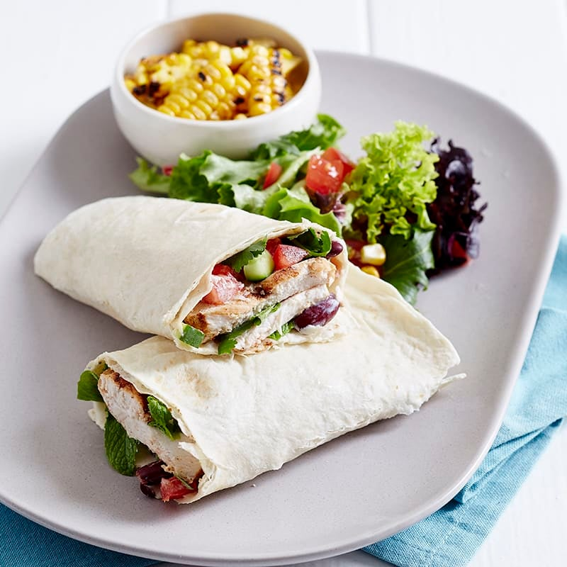Photo of Grilled chicken tortilla by WW