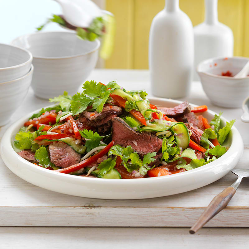Photo of Thai beef salad by WW
