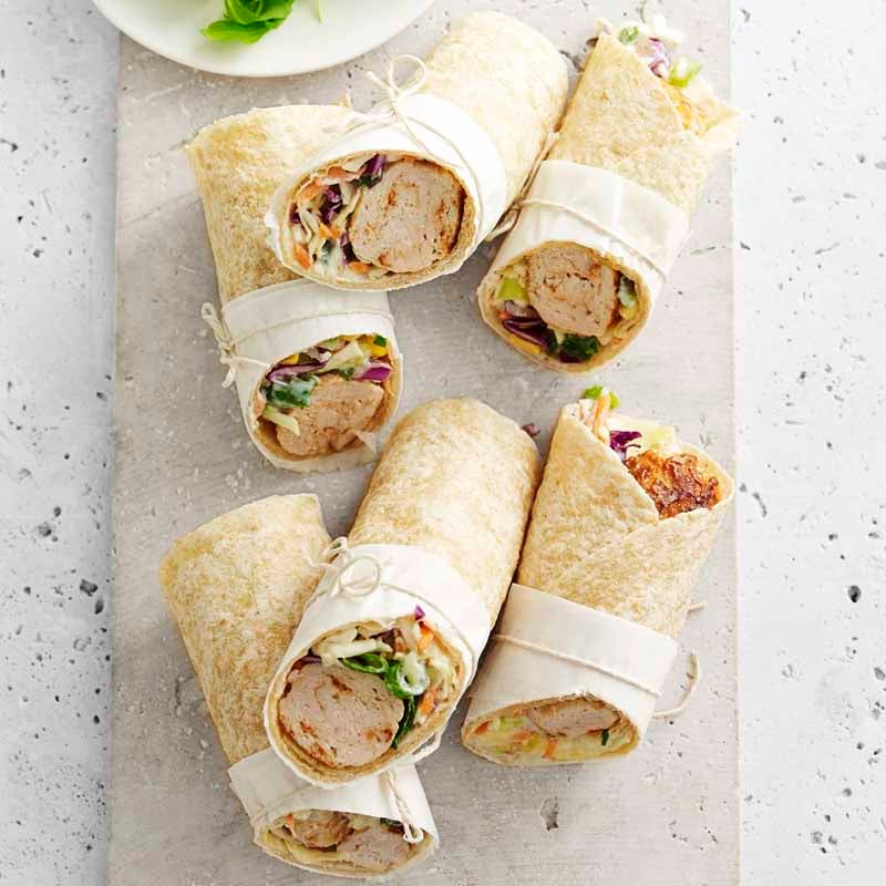 Photo of Chicken meatball wraps by WW