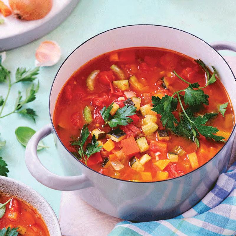 Photo of Zero veggie soup by WW