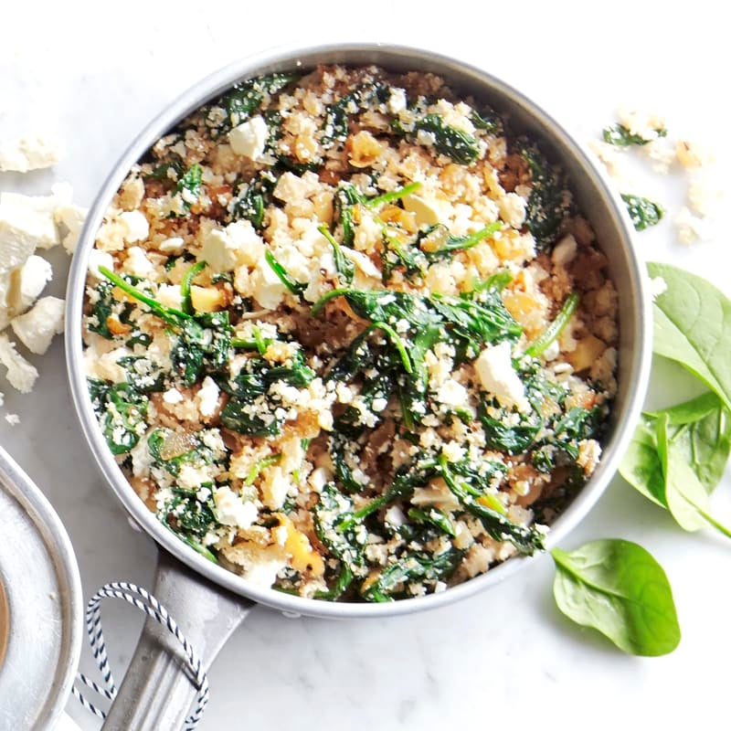 Photo of Spinach, feta and walnut stuffing by WW