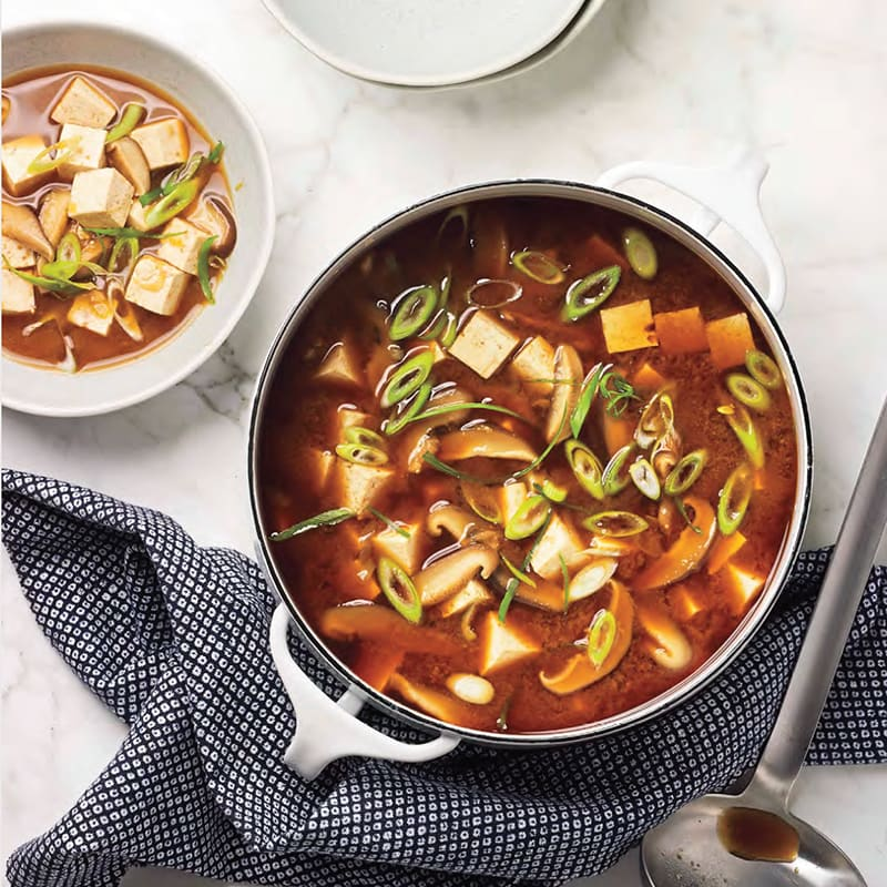 Photo of Miso soup with tofu and shiitakes by WW