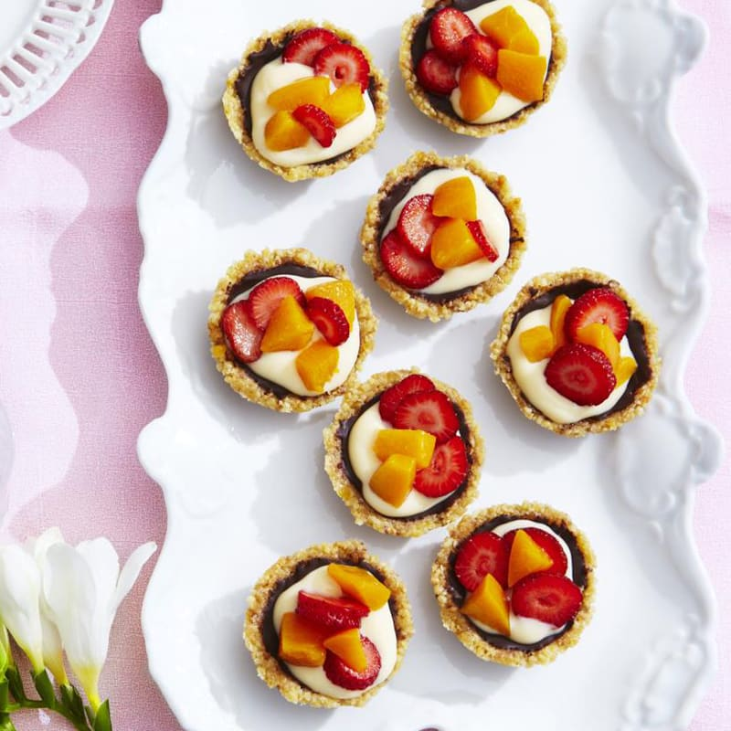 Photo of Mini peach and berry tarts by WW