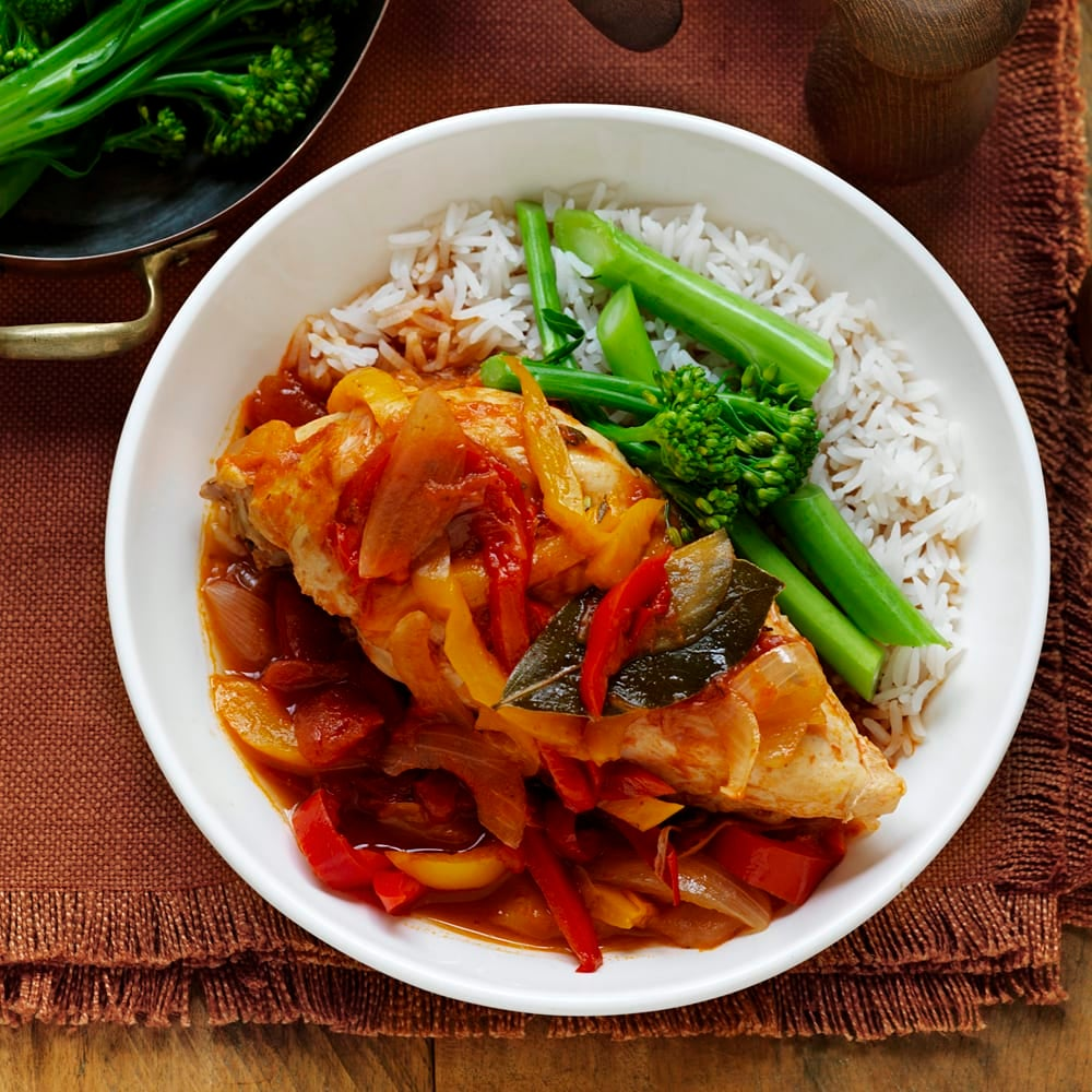 Photo of Chicken, capsicum and tomato casserole by WW