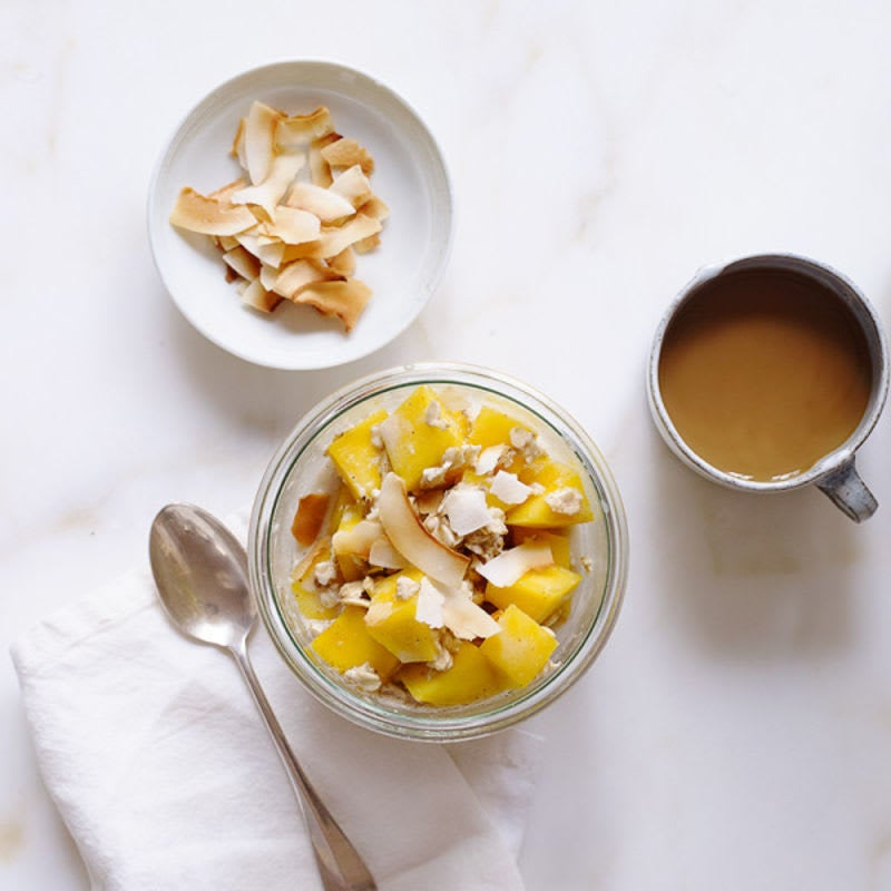Photo of Tropical overnight oats by WW