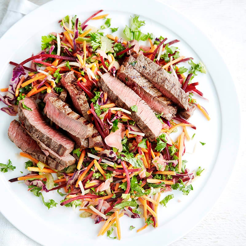 Photo of Five-spice beef with slaw by WW