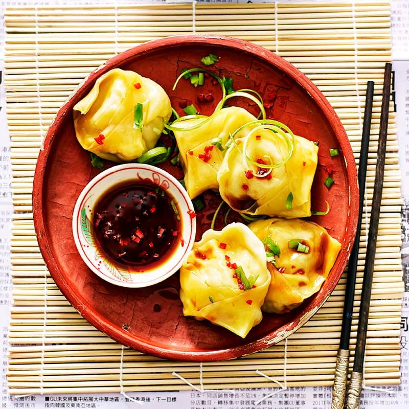Photo of Prawn and shiitake steamed dumplings by WW