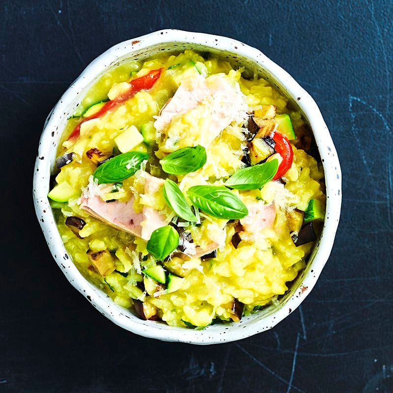 Photo of Tuscan tuna and vegetable risotto by WW