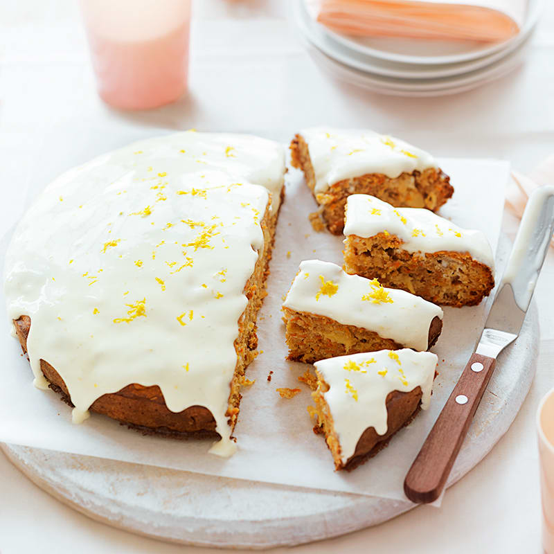 Photo of Carrot and pineapple cake by WW
