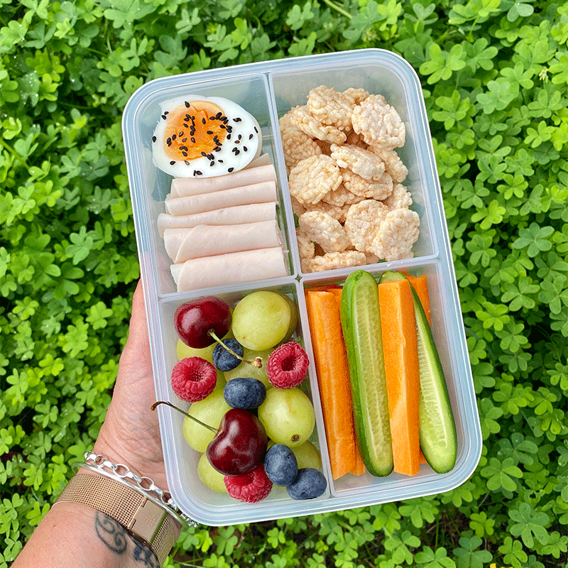 Photo of Anna's chicken and egg snack box by WW