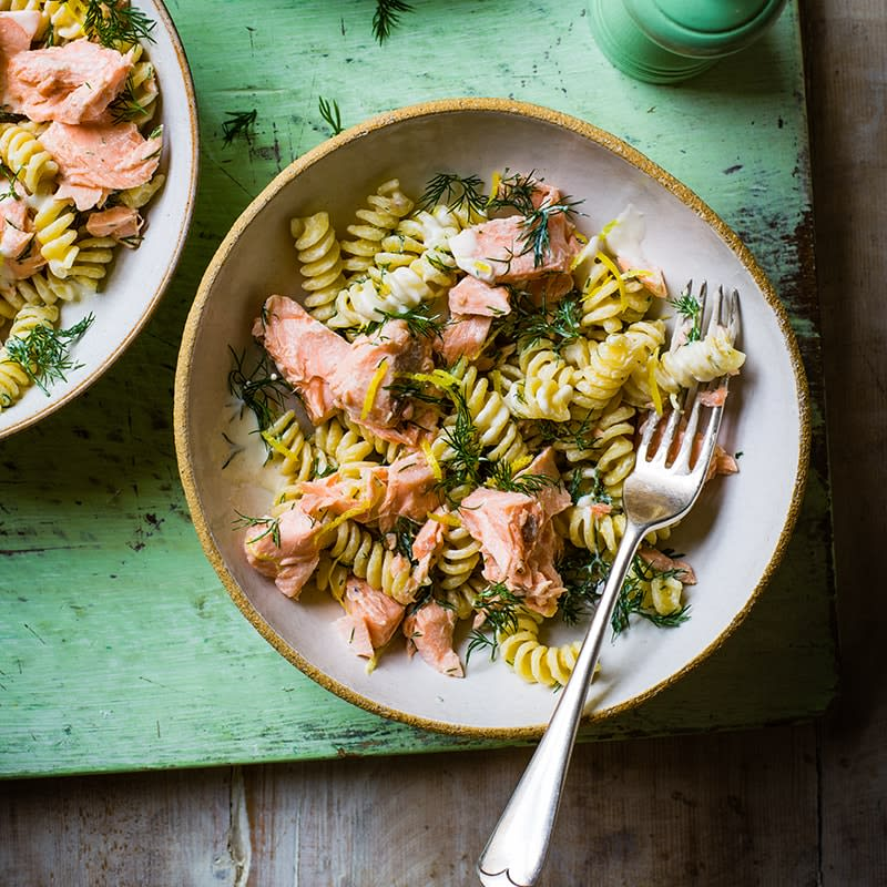 Photo of Salmon and dill pasta by WW