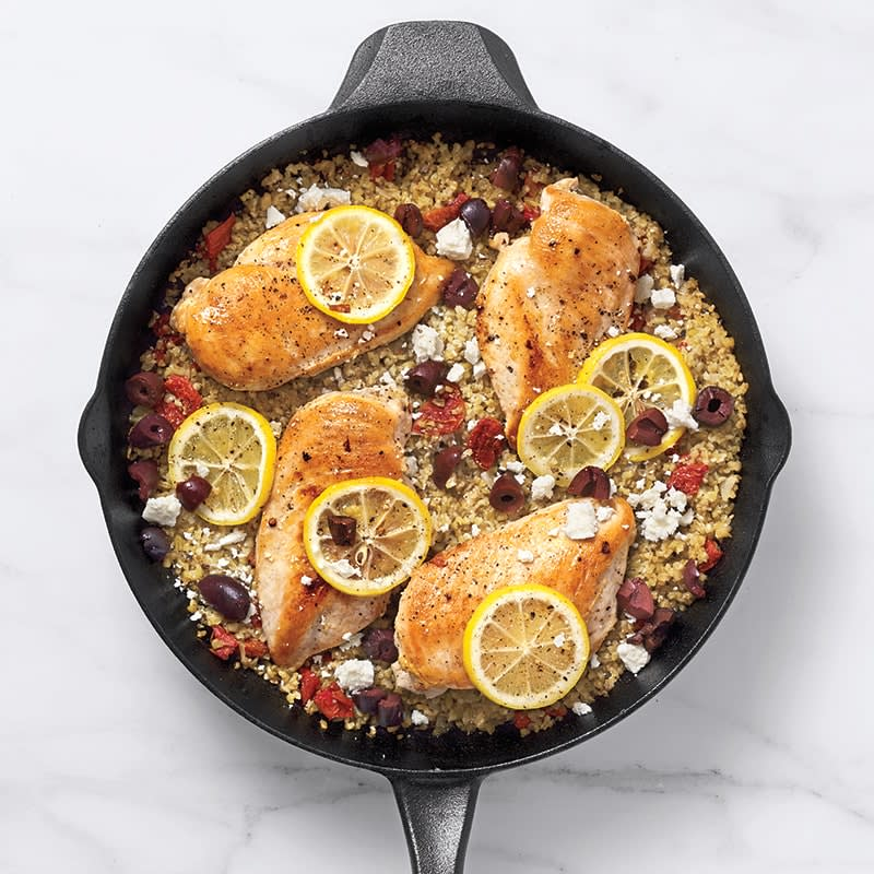 Photo of Greek chicken and freekeh by WW