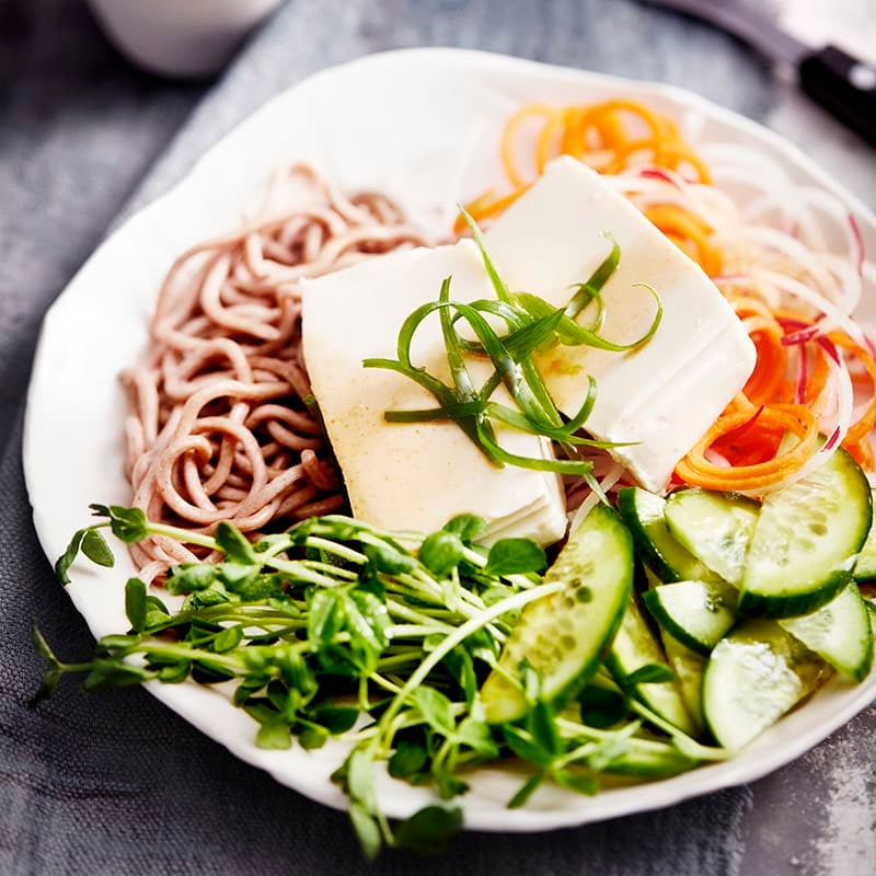Photo of Chilled tofu with soy sesame dressing by WW