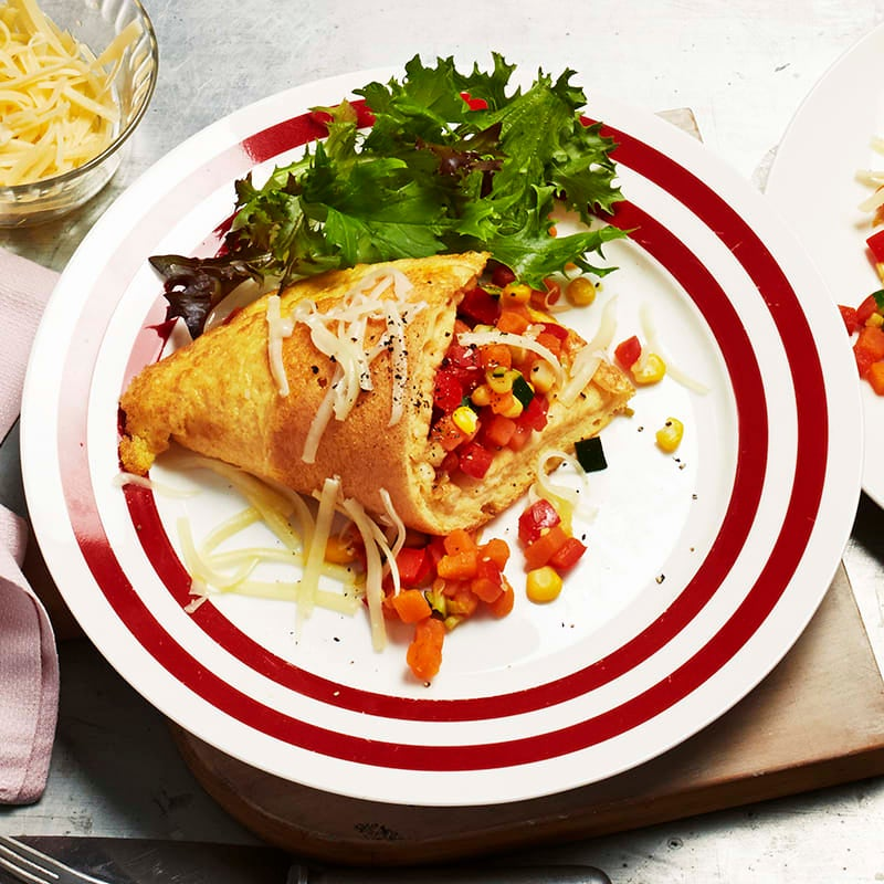 Photo of Vegetable soufflé omelettes by WW