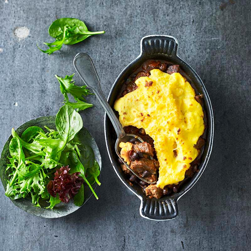 Photo of Cajun beef and polenta pies by WW