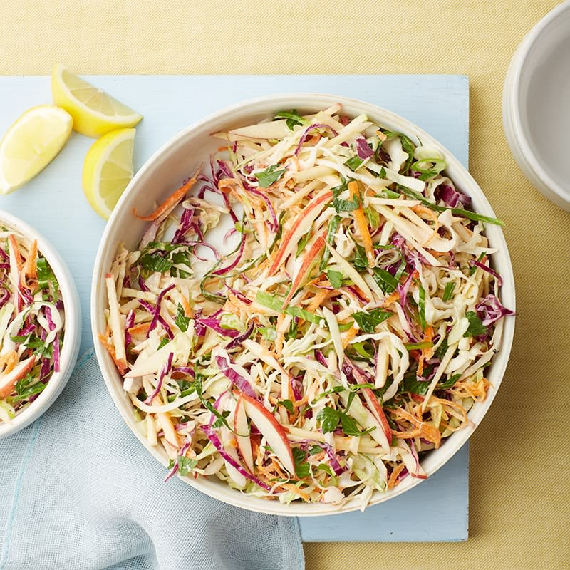 Photo of Lemony coleslaw with apples by WW