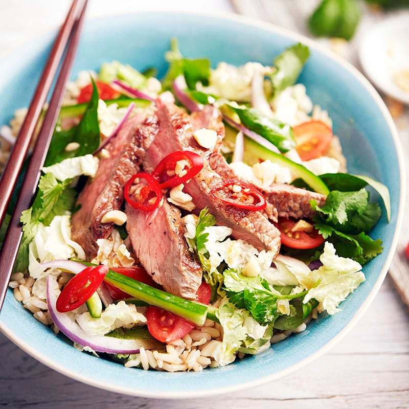Photo of Vietnamese beef salad bowl by WW