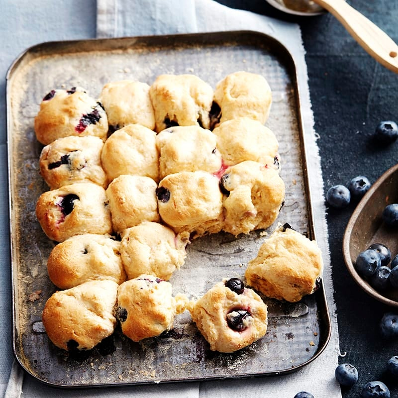 Photo of Blueberry and lemon wholemeal scones by WW