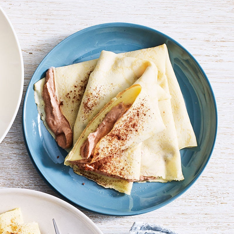 Photo of Chocolate ricotta crepes by WW