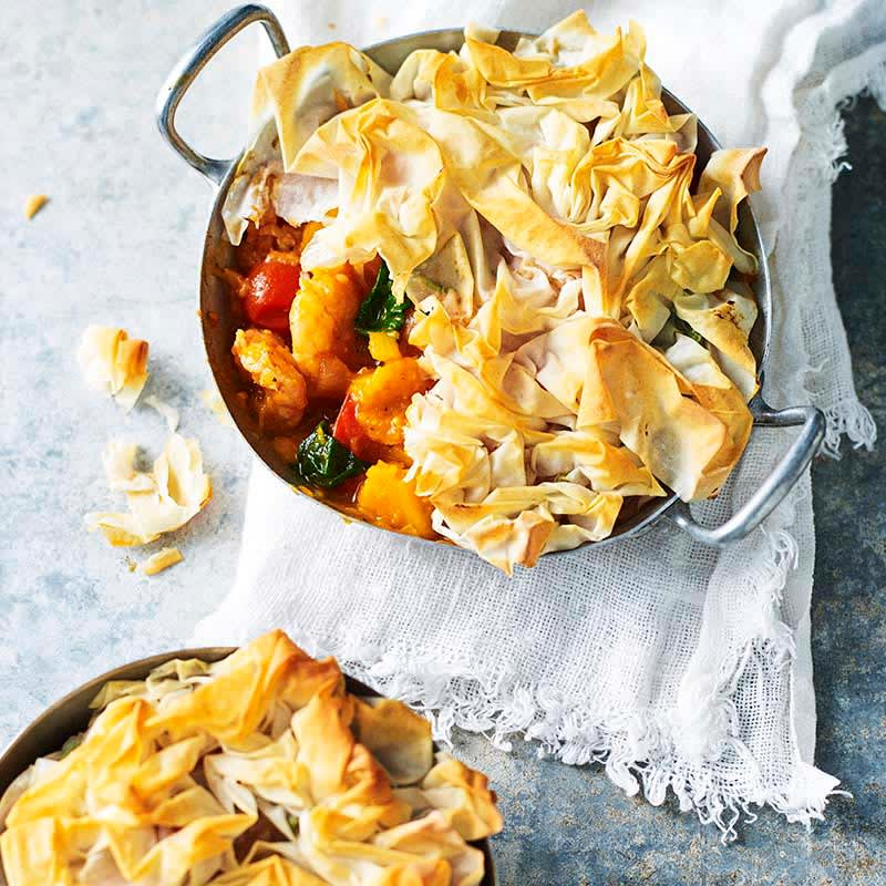 Photo of Moroccan prawn and pumpkin pies by WW