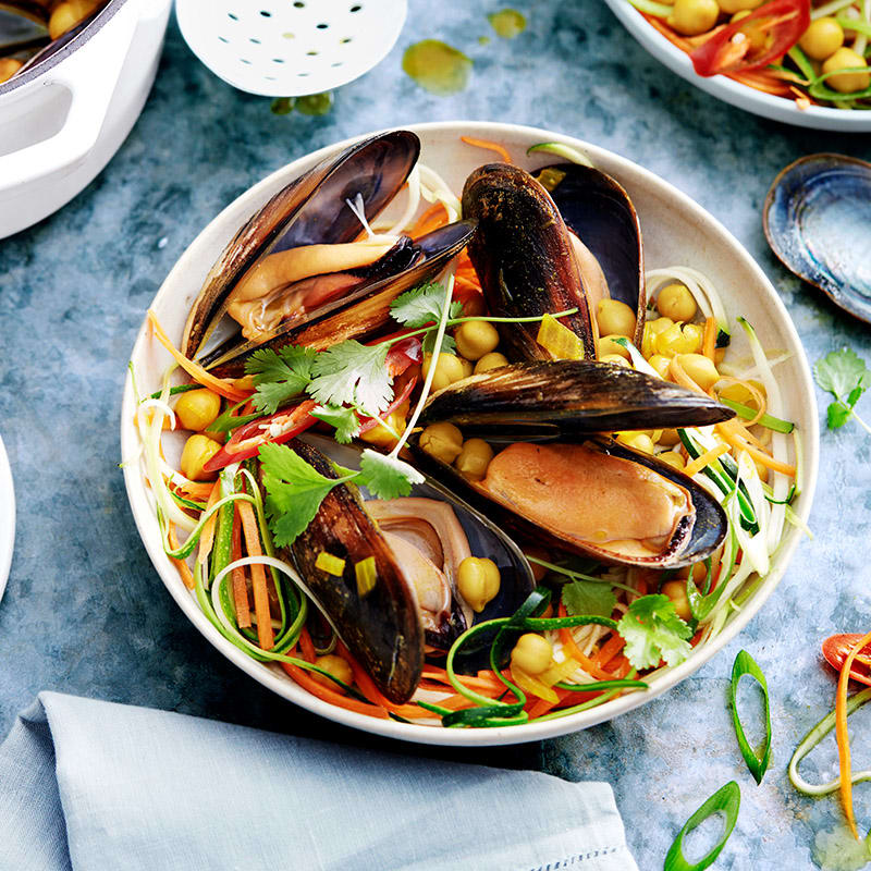 Photo of Curried mussels by WW