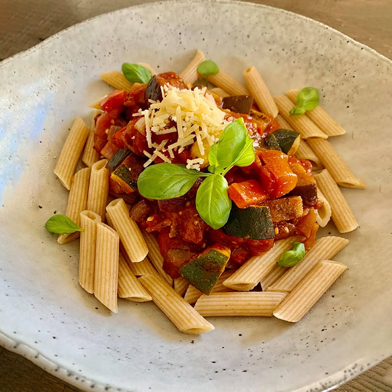 Photo of Shellie's ratatouille pasta by WW
