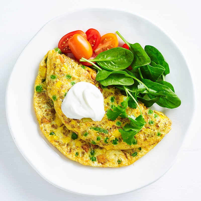 Photo of Spicy Indian-style omelette by WW