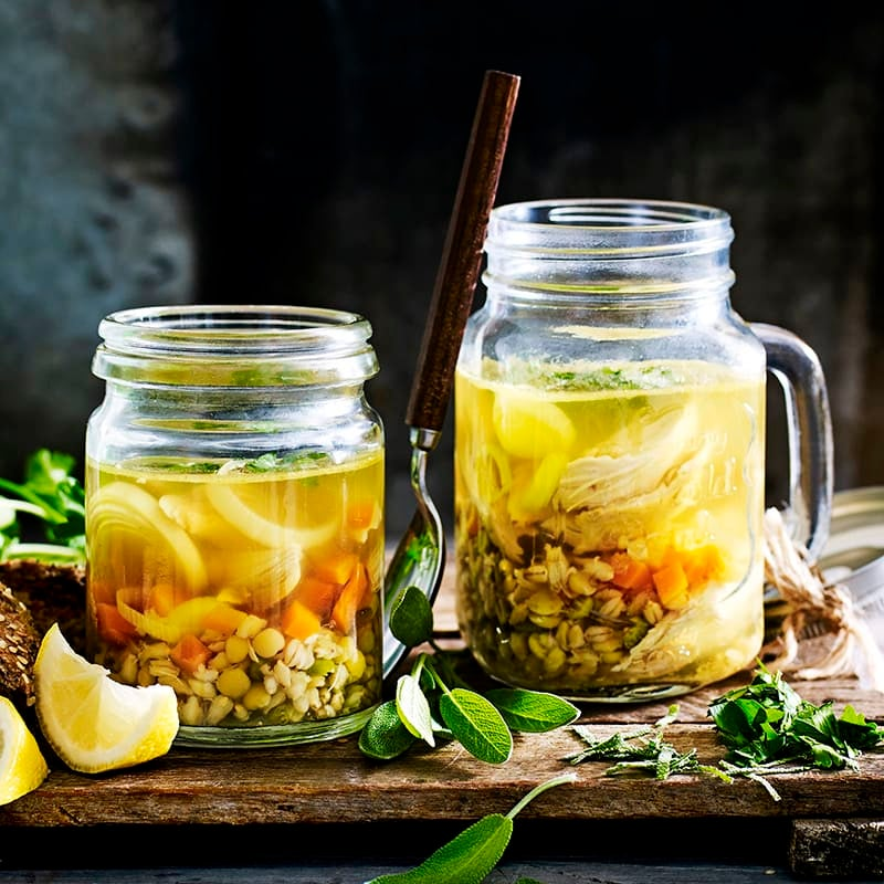 Photo of Chicken and ginger broth by WW