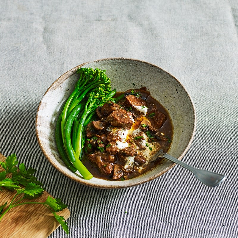 Photo of Slow-cooked beef stroganoff by WW