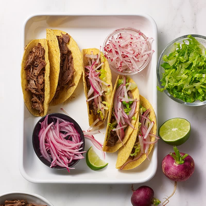 Photo of Slow-cooked spicy Mexican pulled pork tacos by WW