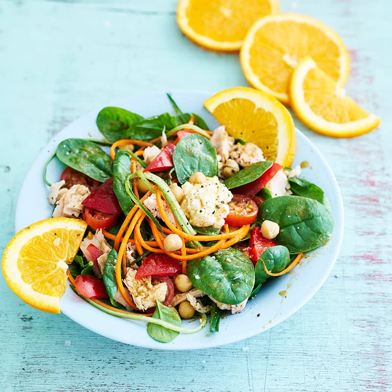 Photo of Tuna and chickpea salad with orange and cumin dressing by WW