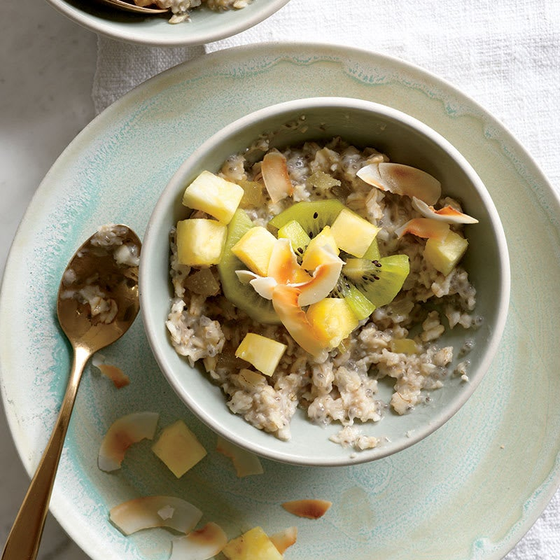 Photo of Tropical oats with chia seeds by WW