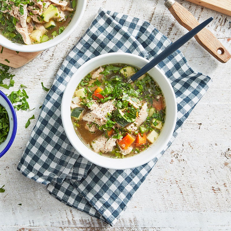 Photo of Lisa's slow cooker chicken soup by WW