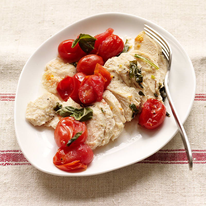 Photo of Chicken, tomato and basil parcels by WW