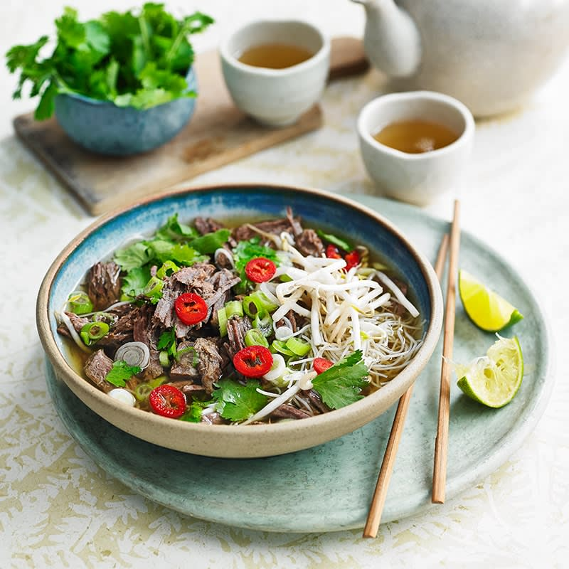 Photo of Vietnamese beef pho by WW