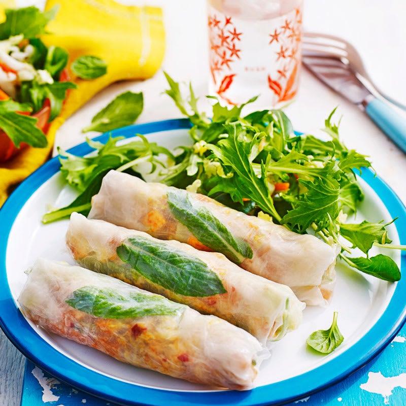Photo of Veg and chilli tofu rolls by WW